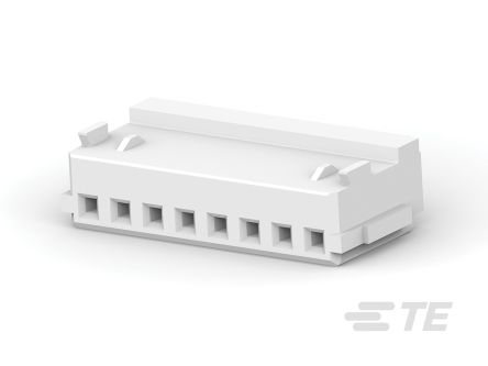 TE Connectivity AMP Mini CT PCB Connector Housing, 1.5mm Pitch, 8 Way, 1 Row