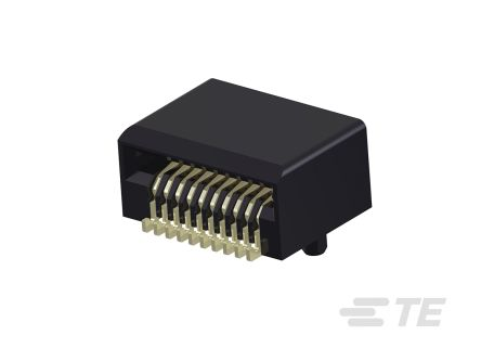 TE Connectivity zSFP+ Series, 20 Way Male Connector Connector