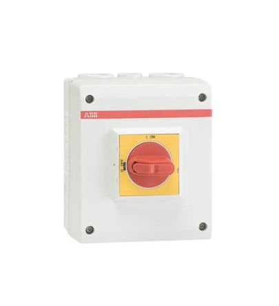 ABB 4 Pole Non-Fused Switch Disconnector - 2NC, 2NO, 16 A Maximum Current, IP65