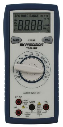 BK Precision BK2705B Handheld Digital Multimeter, 10A ac 750V ac 10A dc 1000V dc 40MΩ