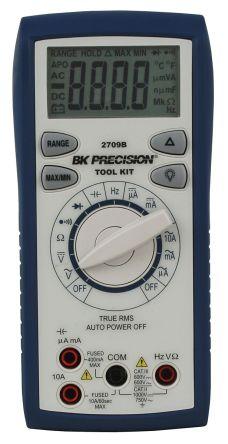 BK Precision BK2709B Handheld Digital Multimeter, 10A ac 750V ac 10A dc 1000V dc 66MΩ
