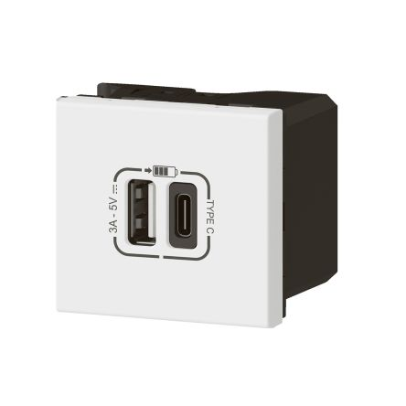 Legrand - Charger usb double associable