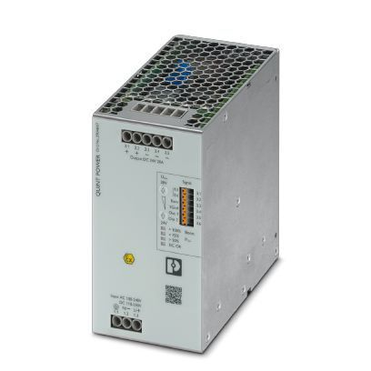 Phoenix Contact DIN Rail Power Supply, 12V dc Output Voltage, 20A Output Current