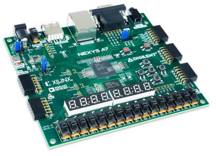 Digilent 410-292-1 FPGA Trainer Board Recommended for ECE Curriculum Development Board for Nexys 4 DDR Board