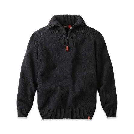 PULL CAMIONEUR CHAUD COULEUR ANTHRACITE