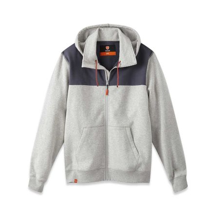 Parade OCAMPO Grey Men's Hooded Cotton Hoodie S