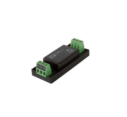XP Power DTJ20 20W Isolated DC-DC Converter Chassis Mount, Voltage in 18 → 75 V dc, Voltage out ±15V dc