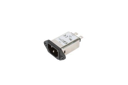 EMC FILTER IEC INLET 10A MEDICAL