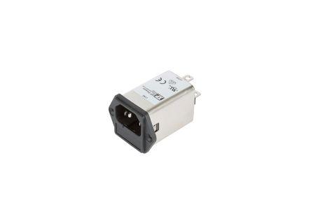EMC FILTER IEC INLET 6A