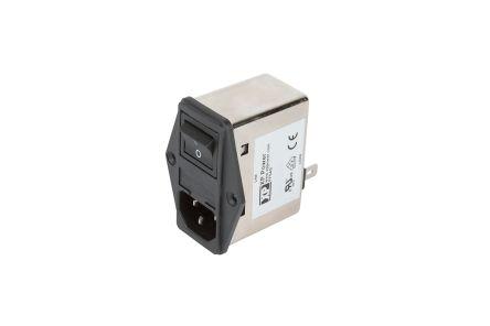EMC FILTER IEC INLET & LINE FILTER 2A