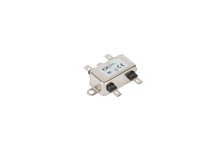 XP Power, FHSA 10A 264 VAC 0Hz, Chassis Mount Power Line Filter, Quick Connect Single Phase Phase