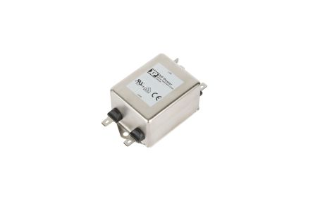 XP Power, FIHA 15A 264 VAC 0Hz, Chassis Mount Power Line Filter, Quick Connect Single Phase Phase