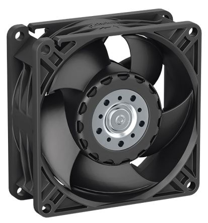 ebm-papst, 12 V dc, dc Axial Fan, 80 x 80 x 32mm, 70m³/h, 2.9W, IP54, IP68