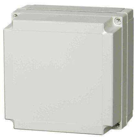 Fibox Polycarbonate Enclosure, IP66, IP67, 180 x 180 x 75mm Light Grey