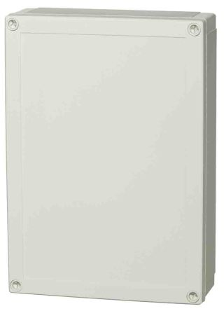 Fibox Polycarbonate Enclosure, IP66, IP67, 255 x 180 x 75mm Light Grey