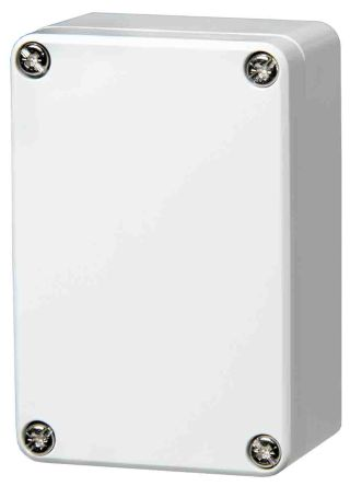 Fibox ABS Enclosure, IP66, IP67, 98 x 66 x 41mm Light Grey