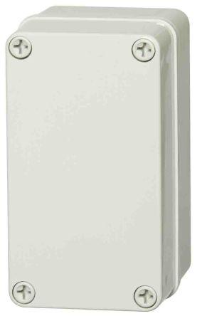 Fibox ABS Enclosure, IP66, IP67, 140 x 80 x 65mm Light Grey