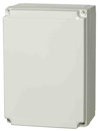 Fibox Polycarbonate Enclosure, IP66, IP67, 255 x 180 x 100mm Light Grey