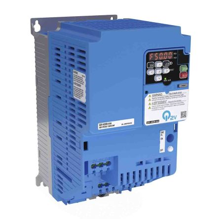 Omron Inverter Drive, 3-Phase In, 590Hz Out 7.5 kW, 400 V ac, 20 A Q2V, IP20