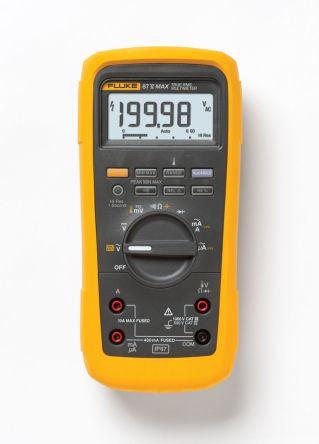 Fluke 87V-MAX Digital Digital Multimeter, 10A ac 1000V ac 10A dc 1000V dc 50MΩ