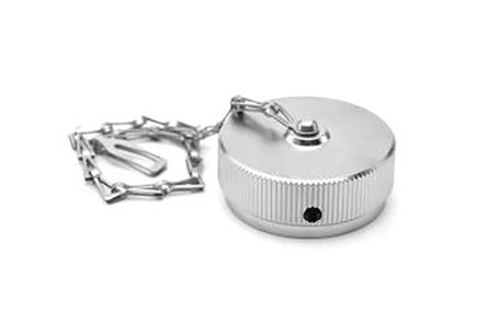 Amphenol, Duramate AHDM Circular Connector Dust Cap, Shell Size 24 IP67 Rated, with Nickel Finish