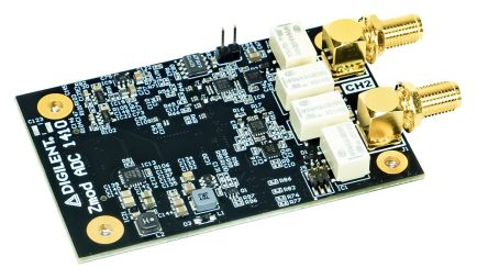 Digilent 410-396 Zmod ADC 1410 Expansion Module for Dual-Channel 14-Bit Analog-to-Digital Converter Module