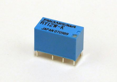 Fujitsu PCB Mount Non-Latching Relay - DPDT, 4.5V dc Coil, 1A Switching Current, 2 Pole