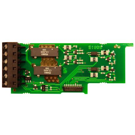 Output Card Red Lion PAXCDS50 for use with Dual Relay, Dual Triac/Dual SSR Drive, Quad Relay, Quad Sinking Transistor,