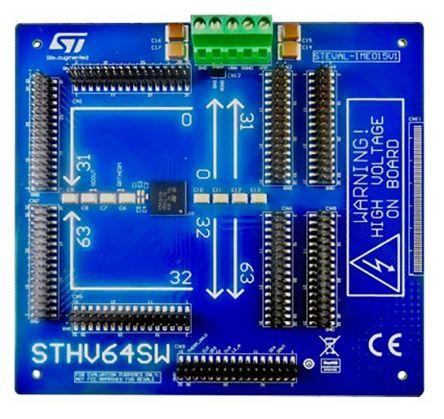 STMicroelectronics STHV64SW Intelligent Power Switch, High Voltage, ±3A, 0 → 200 V, -200 → 0 V, ±100 V