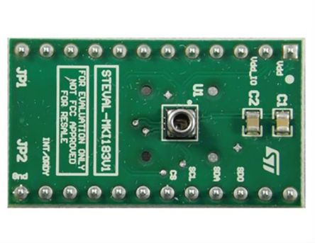 STMicroelectronics STEVAL-MKI183V1, LPS33HW Adapter Board for a Standard DIL24 Socket Adapter Board for Standard DIL24