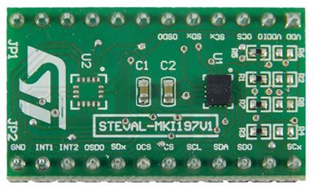 STMicroelectronics STEVAL-MKI197V1, LSM6DSOX Adapter Board for a Standard DIL24 Socket Adapter Board for Standard DIL24