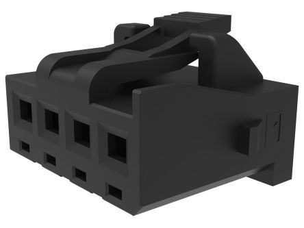 Molex 207841 Receptacle PCB Connector Housing, 2.5mm Pitch, 3 Way, 1 Row