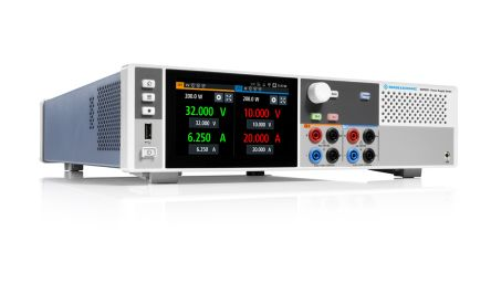Rohde & Schwarz Digital Bench Power Supply 400W, 2 Output 0 → 32V 20A