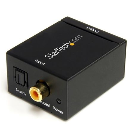 SPDIF Digital Coaxial or Toslink Optical
