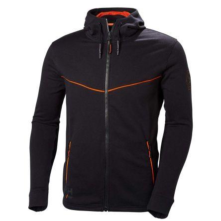Helly Hansen Chelsea Evolution Black Cotton, Polyester Work Jacket, L