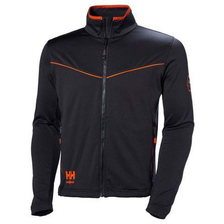 Helly Hansen Chelsea Evolution Black Cotton, Polyester Work Jacket, M