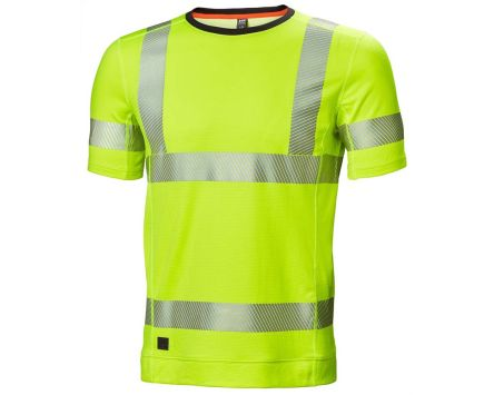 Helly Hansen HH Lifa Active Yellow Hi Vis T-Shirt, S
