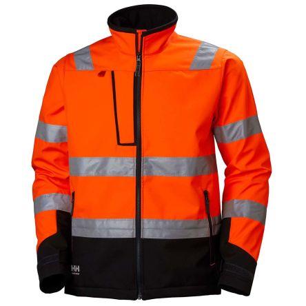 Helly Hansen Alna Orange Hi Vis Jacket, S