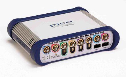 Osciloskop, řada: PicoScope 6000E PicoScope 6804E počítačový 8kanálový 500MHz USB 2 G points Pico Technology 300000