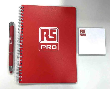 RS PRO A5 Wirebound Semi-Rigid Stationery Kit Ruled Sheets