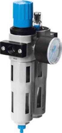 Festo G 1/2 Filter Regulator Lubricator, Automatic Drain, 40μm Filtration Size