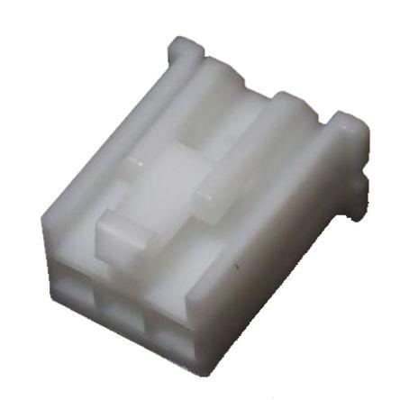 JST, XMP Female Crimp Connector Housing, 2.5mm Pitch, 3 Way, Single Row