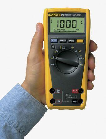 Fluke 179 Handheld Digital Multimeter, 10A ac 1000V ac 10A dc 1000V dc