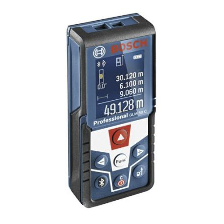 Bosch GLM 50C Laser Measure, 0.05 → 50 m Range, ±1.5 mm Accuracy