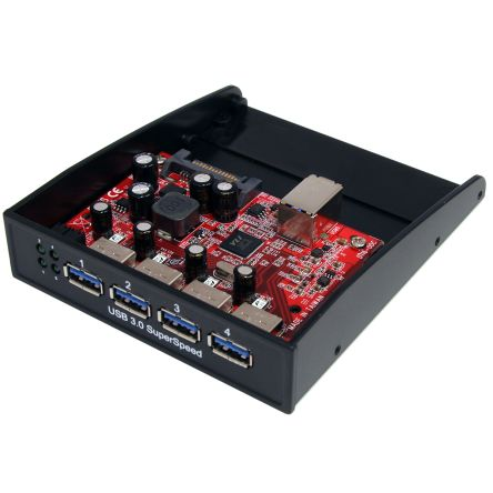 Startech 3 Port Portable USB 3.0 Hub With Gigabit Ethernet