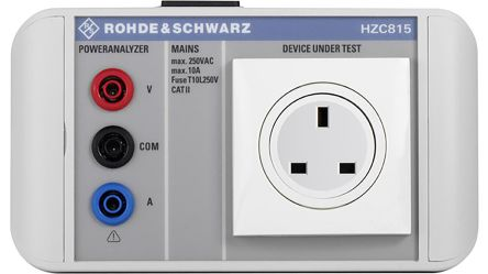 Rohde & Schwarz HZC815-UK Power Quality Analyser Adapter, Accessory Type Adapter, For Use With HMC8015 Power Analyser