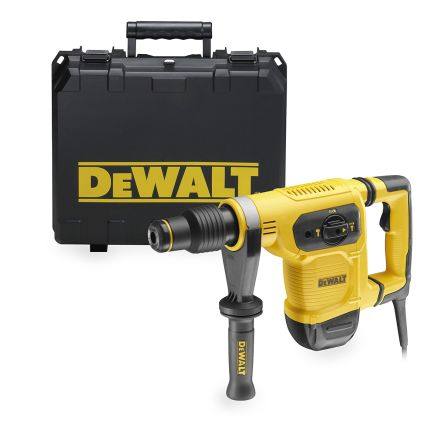 Dewalt D25481K-LX 40mm SDS-Max Hammer Drill, 540rpm, 110V, 1 05kW, 5 9kg,  BS 4343
