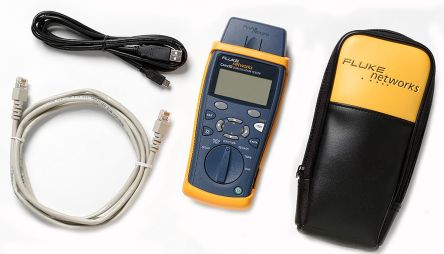 Fluke Networks CableIQ LAN Test Equipment of Cable Continuity, Ethernet Port Test, Voice