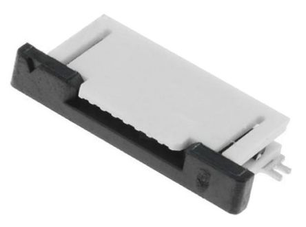 Molex Easy On 52745 Series 0.5mm Pitch 8 Way Straight FPC Connector, ZIF Top Contact