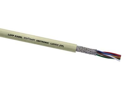 3 Pair Screened Multipair Industrial Cable 0.14 mm²(IEC60332-1) Grey Unitronic LiHCH Series product photo